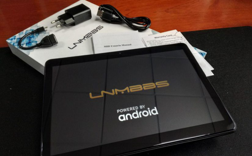 Tablet LNMBBS 4G, pantalla 10.1 HD IPS