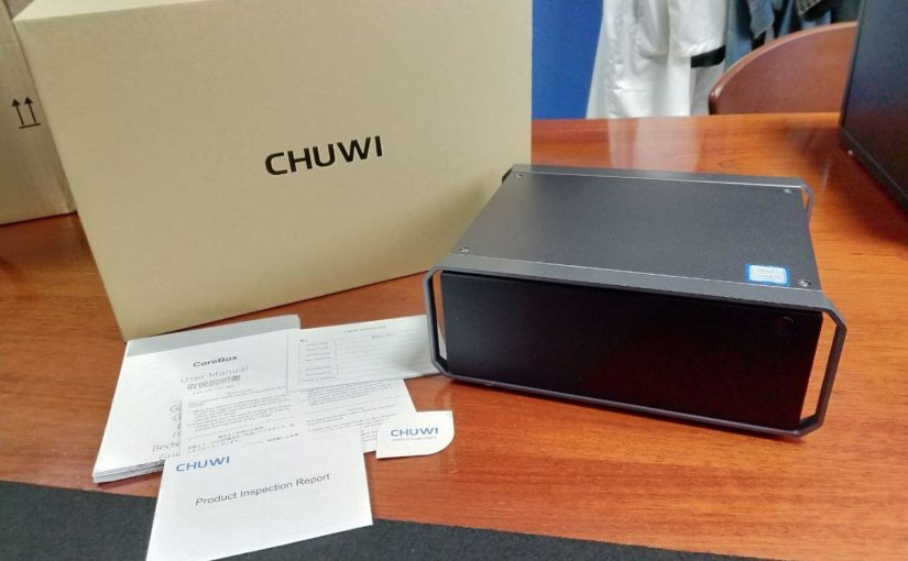 Review Chuwi Corebox MiniPC
