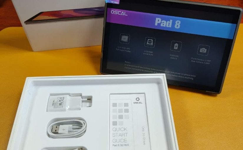 Review & Unboxing – Tablet Oscal Pad 8